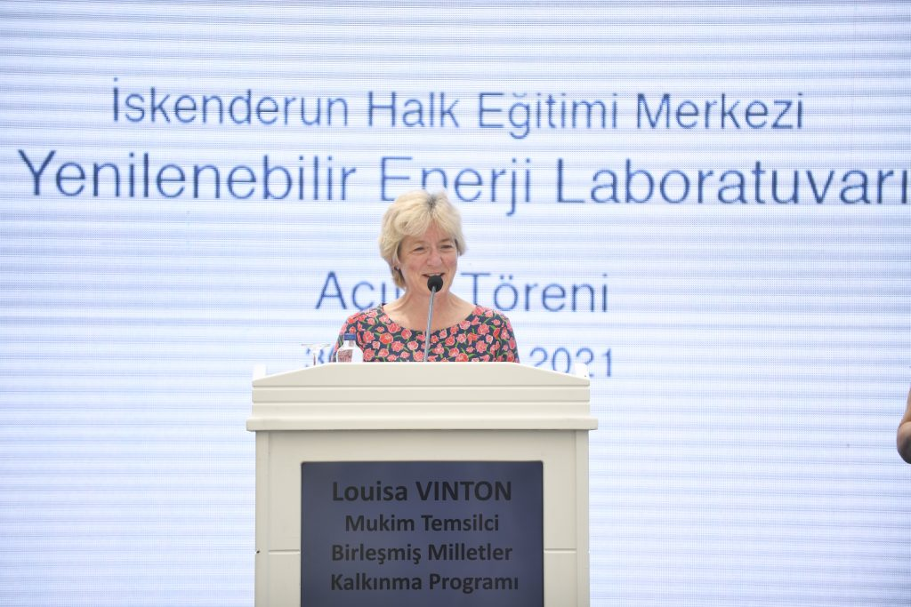 Undp Türkiye Mukim Temsilcisi Louisa Vinton